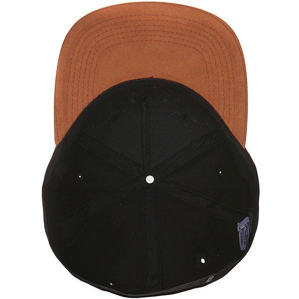 Бейсболка с прямым козырьком Globe Gladstone Snap Back Black