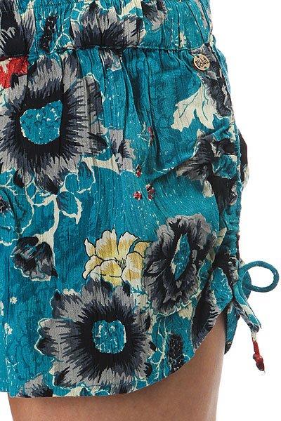 Шорты классические женские Billabong Native Short Costa Blue