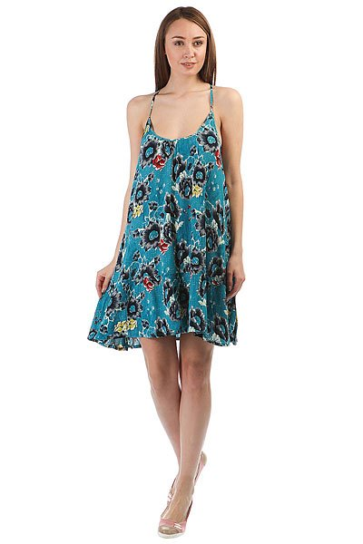 Платье женское Billabong Coconut Dress Costa Blue