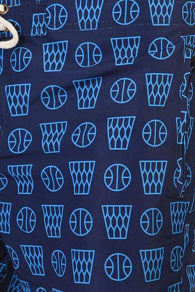 Шорты пляжные Запорожец Basketbol Navy