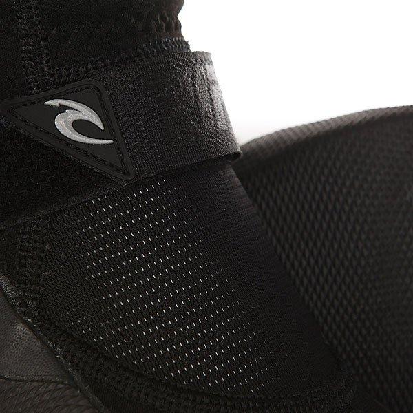 Гидроботинки Rip Curl Reefer Boot - 1.5mm Split Toe Black/Charcoal