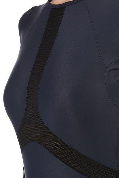 Гидрокостюм (Комбинезон) женский Rip Curl Long Sleeve Boyleg Uv Surf Suit Blue