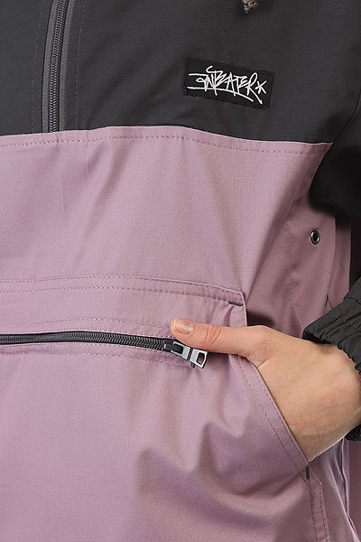 Анорак женский Anteater Anorakcotton  Серый/Фиолетовый
