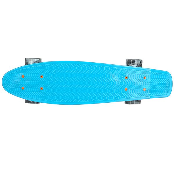 Скейт мини круизер Пластборды Stream Light Blue 6 x 22.5 (57 см)