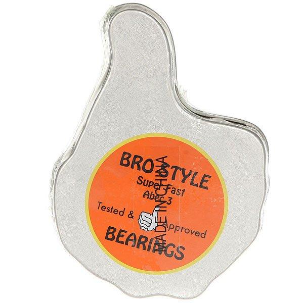 Подшипники Bro Style Abec 3 High Grade Grey/Black