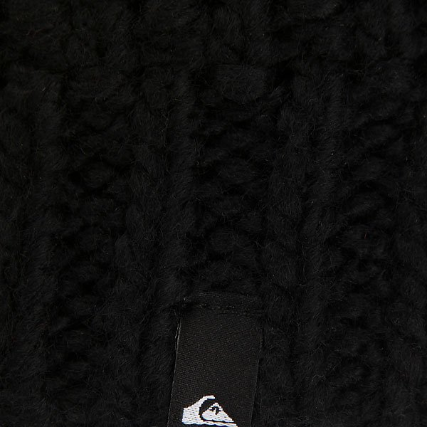 Шапка носок Quiksilver Planter Beanie Black