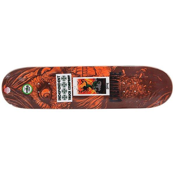 Дека для скейтборда Creature Bingaman Viscerous Pro Green 32 x 8.375 (21.3 см)