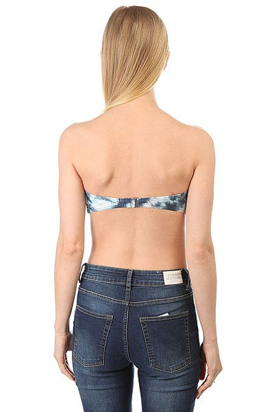 Бюстгальтер женский Billabong Tidal Wave Bustier Blue Jay