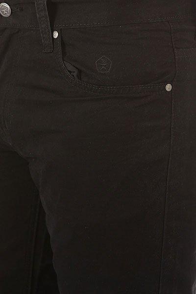 Штаны прямые Запорожец Chino Zap Carrot Black
