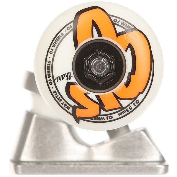Подвеска для скейтборда 1шт. Bullet & Oj 53mm 1t/2w/4b Assembly Standard Silver 5 (19.7 см)