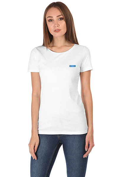Футболка женская Wearcraft Premium Mail.Ru Women Logo Blue Белая
