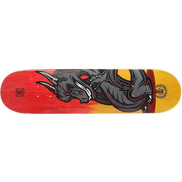 Купить Дека для скейтборда Юнион Dragon Red/Orange 31.5 x 7.75 (19.7 см) 1178265