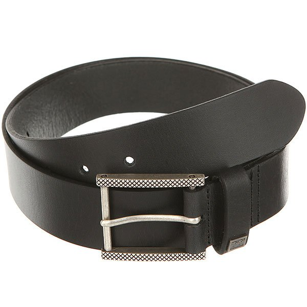 Ремень Billabong Eternal Leather Belt Black