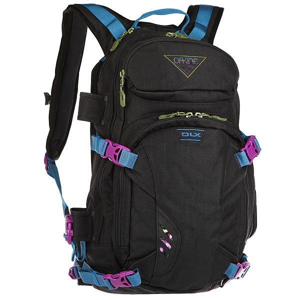 Купить Рюкзак туристический женский Dakine Heli Pro Dlx Black Ripstop 1178606