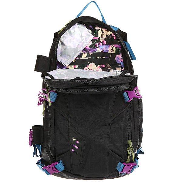 Рюкзак туристический женский Dakine Heli Pro Dlx Black Ripstop