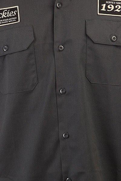 Рубашка Dickies North Irwin Charcoal Grey