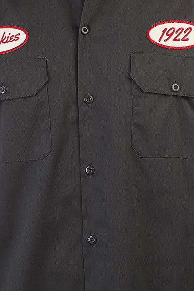 Рубашка Dickies Rotonda South Charcoal Grey