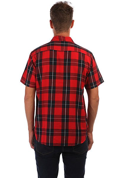 Рубашка Dickies Lockesburg Red