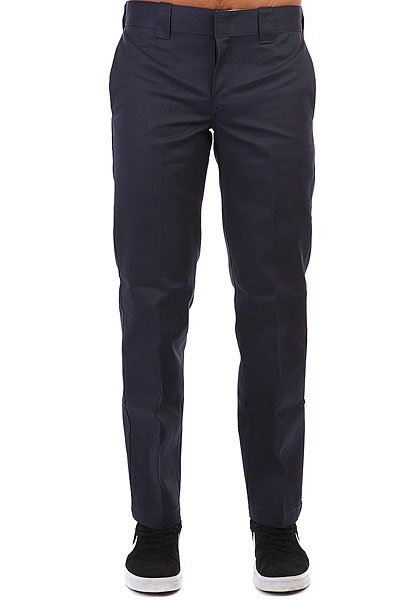Штаны прямые Dickies Slim Straight Work Pant Navy Blue