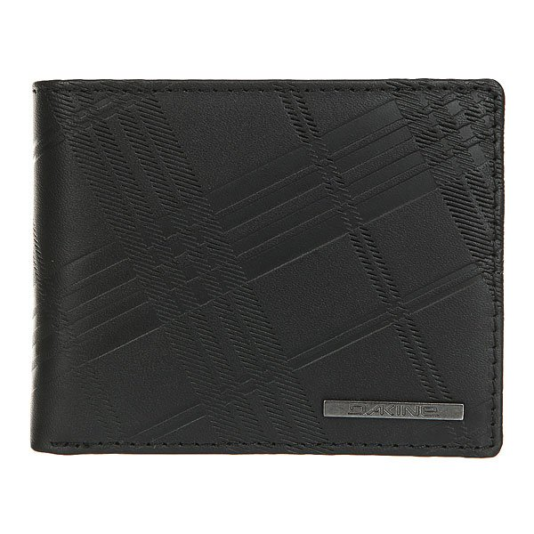 Кошелек Dakine Agent Leather Wallet Real Black