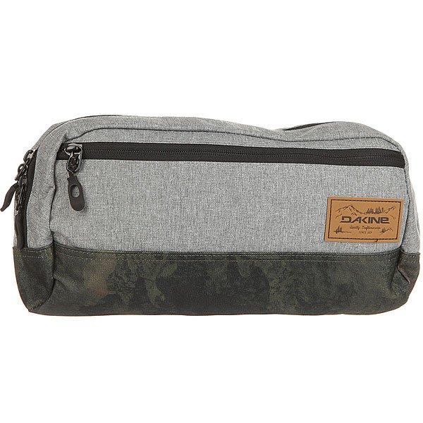 Сумка поясная Dakine Sling Pack Grey/Green