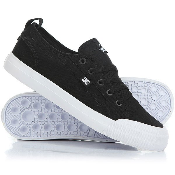 Кеды низкие DC Evan Smith Tx Real Black/White