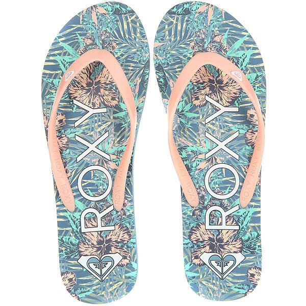 Вьетнамки женские Roxy Tahiti V Blue Surf