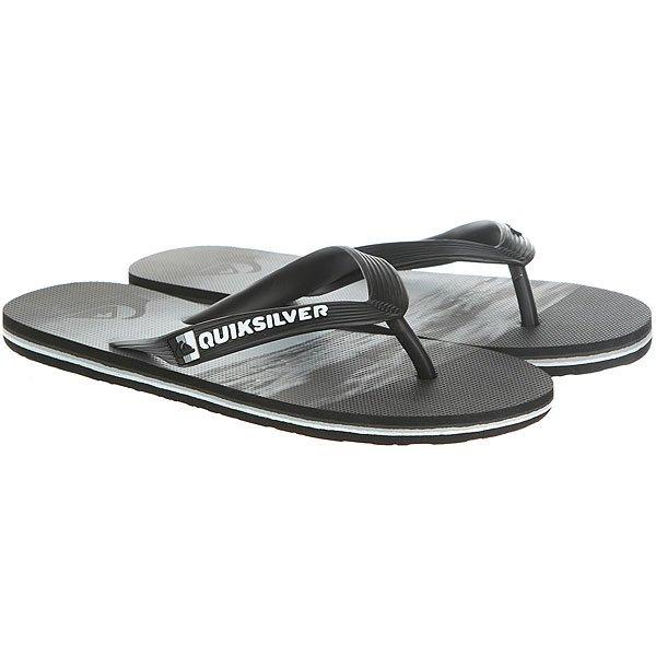 Вьетнамки Quiksilver Molokaiholddown Real Black/Grey