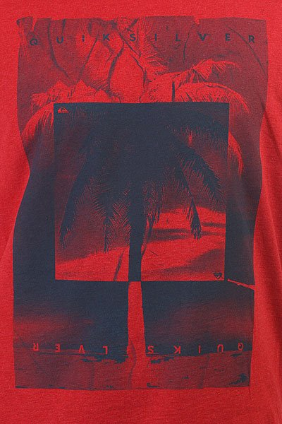 Футболка Quiksilver Inverted Cardinal Red