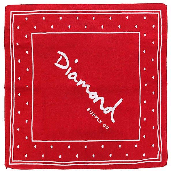 Бандана Diamond Og Script Bandana Red
