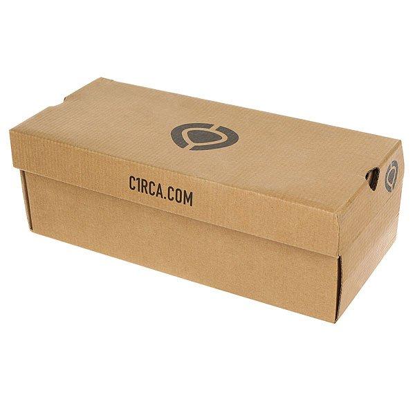 Кеды низкие Circa Crip Black Satin
