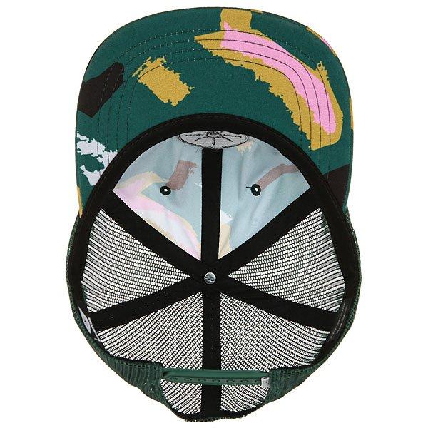 Бейсболка с сеткой Poler Golden Circle Floppy Treetop Camo