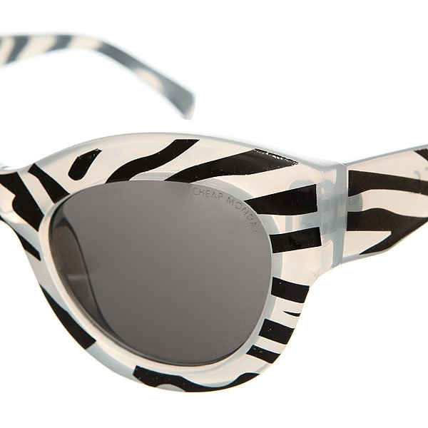 Очки женские Cheap Monday Vicious Zebra Black