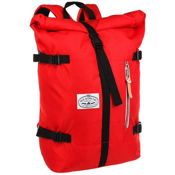 Рюкзак туристический Poler Classic Rolltop Bright Red