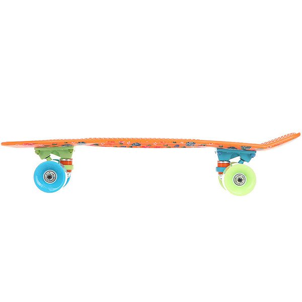 Скейт мини круизер Пластборды Warp 1 Orange/Multi 6 x 22.5 (57 см)