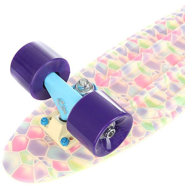 Скейт мини круизер Пластборды Desert 1 Beige/Multi 6 x 22.5 (57 см)