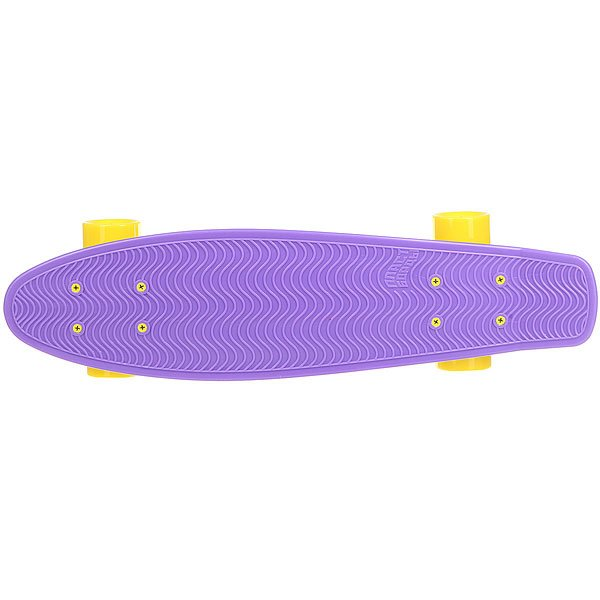 Скейт мини круизер Пластборды Robot 1 Purple/Navy/Yellow/Red/Green 6 x 22.5 (57 см)