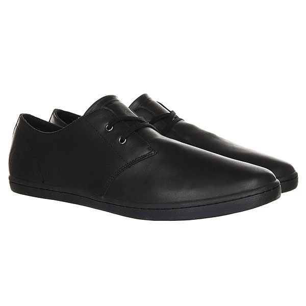 Ботинки низкие Fred Perry Byron Low Leather 102 Black