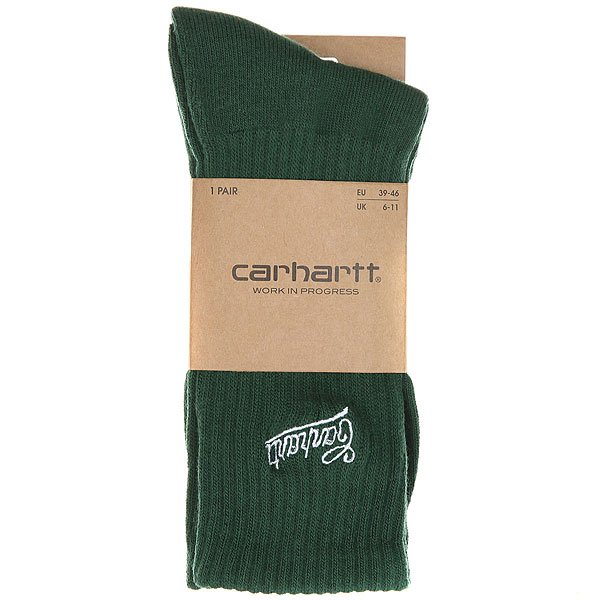 Носки средние Carhartt WIP Strike Socks Fir/White