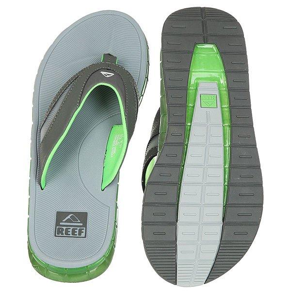 Вьетнамки Reef Boster Grey/Green