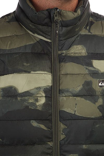 Жилет Quiksilver Scalysleeveless Four Leaf Clover Res