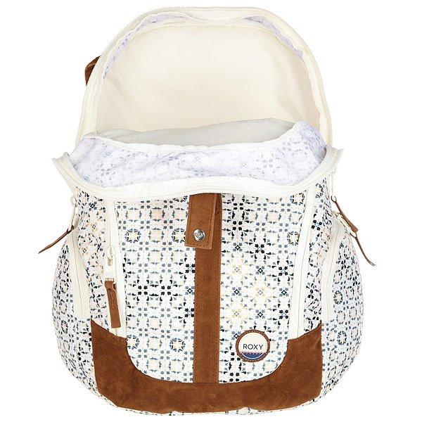 Рюкзак городской женский Roxy Readytowin Marshmallow Liberia