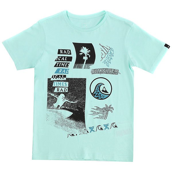Футболка детская Quiksilver Ssclateythvenib Light Blue