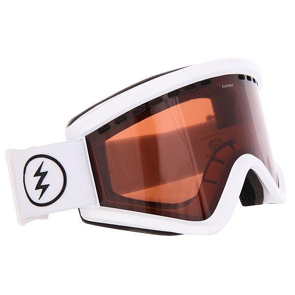 Маска для сноуборда Electric Egv Gloss White Brose