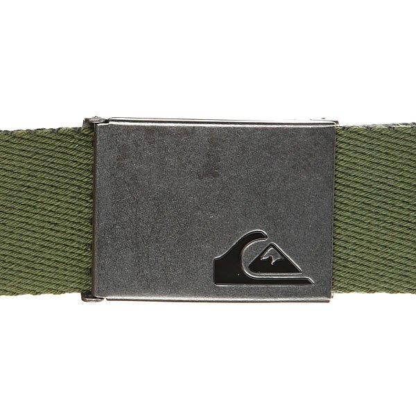 Ремень Quiksilver Thejam4 Rifle Green