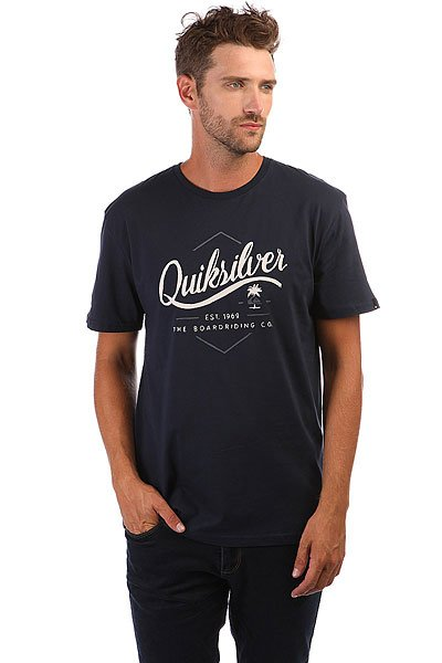 Футболка Quiksilver Ssclateseatales Navy