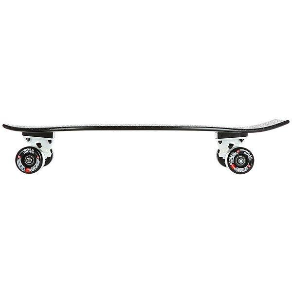 Скейт мини круизер Nor Cal Pinstripe Land Shark Cruzer Black 8.8 x 27.7 (71.1 см)