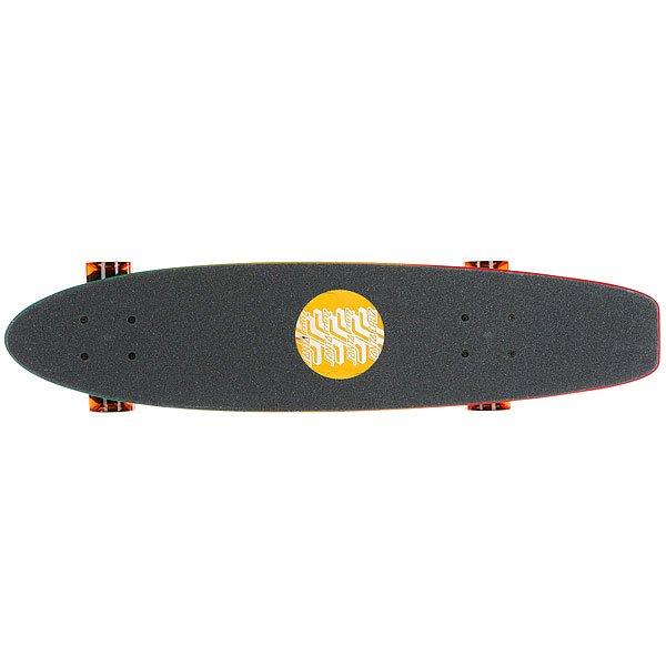 Скейт мини круизер Santa Cruz Ogsc Fade Jammer Pickle Cruzer Rasta 6.8 x 28.95 (71.1 см)