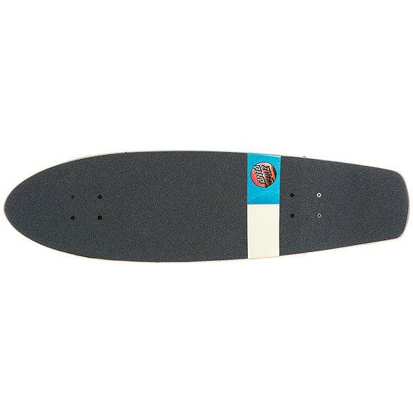 Скейт мини круизер Santa Cruz Homebreak Street Shark Cruzer Multi 8.8 x 30.97 (76.2 см)