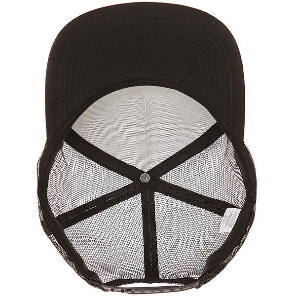 Бейсболка с сеткой Independent Weathered Cross Trucker Mesh White/Black